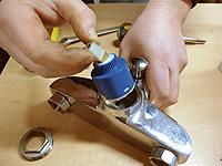 Ремонт шарового смесителя